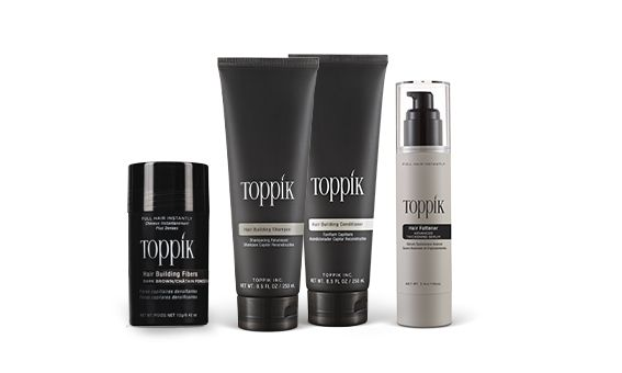 Toppik Hair Building Fibers + Styling Kit