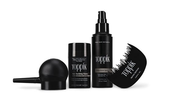 Toppik Hair Building Fibers + Hair Perfecting Toolkit